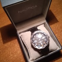 Nautica Staal 44mm Quartz A12565G tweedehands