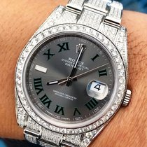 Rolex Datejust Steel 41mm No numerals UAE, Dubai