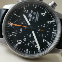 Fortis Flieger Steel 40mm