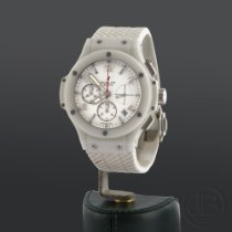 Hublot Cronógrafo 41mm Automático usados Big Bang 41 mm Blanco