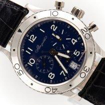 Breguet Platinum Automatic Blue Arabic numerals 39mm pre-owned Type XX - XXI - XXII