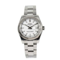 Rolex Lady-Datejust Steel 31mm White