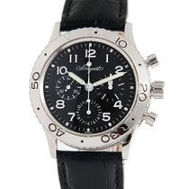 Breguet Type XX - XXI - XXII Steel 40mm Black