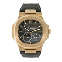 Patek Philippe Nautilus Rose gold 40mm Black No numerals United States of America, New York, New York