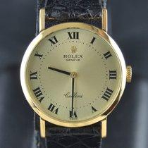 Rolex Cellini 4109 Buono Oro giallo 26mm Manuale Italia, Roma