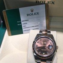Rolex Datejust II Acero y oro 41mm Marrón Sin cifras España, barcelona