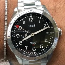 Oris Big Crown ProPilot GMT Acier 44mm Noir Arabes