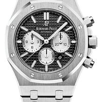 Audemars Piguet Royal Oak Chronograph Steel 41mm Black No numerals United States of America, Florida, Sunny Isles Beach