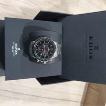 Edox Chronorally Steel Black