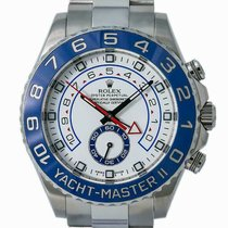 Rolex Yacht-Master II Acier 44mm Blanc