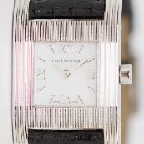 Carl F. Bucherer White gold Quartz Mother of pearl Roman numerals pre-owned Pathos