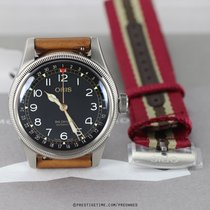Oris Big Crown Pointer Date Acero 40mm Negro