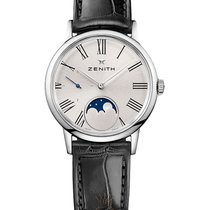 Zenith new Automatic Small seconds 33mm Steel Sapphire crystal