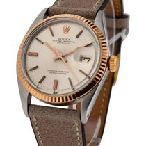Rolex Used 1601_SS_RG Ref 1601 Datejust Steel and Rose Gold -...