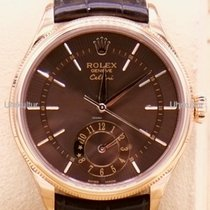 Rolex Cellini Dual Time Oro rosado 39mm