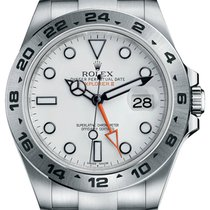 Rolex Oyster Perpetual Explorer II White Dial