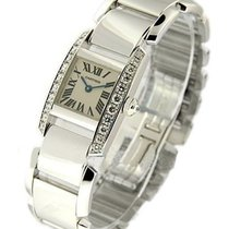 Cartier WE70039H Tankissime - Mid Size - White Gold with...