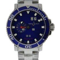 Ulysse Nardin Aqua Perpetual Stainless Steel Blue Dial On...