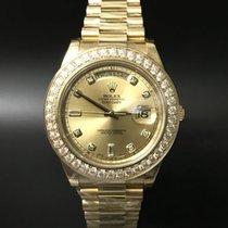Rolex Day-Date II / President II 218348 Diamond Bezel