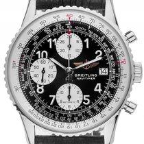 Breitling Old Navitimer Stahl Automatik Chronograph Chronomete...