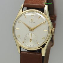 Omega De Ville Trésor pre-owned 35.5mm Silver Leather