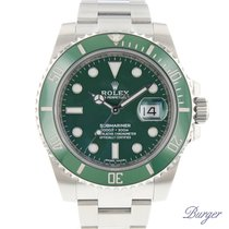 Rolex Submariner Date Green 116610LV NEW