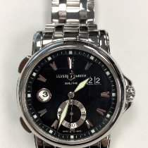 Ulysse Nardin pre-owned Automatic 42mm Black Sapphire Glass 10 ATM