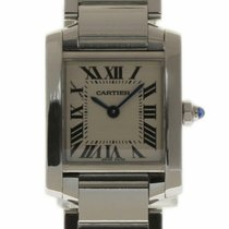 Cartier Tank Française Steel 20mm White Roman numerals United States of America, Florida, 33132