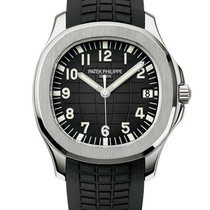 Patek Philippe Aquanaut Steel 40mm Black Arabic numerals United States of America, New York, New York