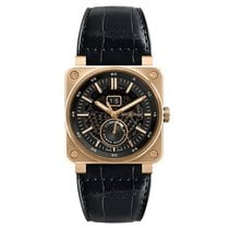 Bell & Ross BR 03-90 Grande Date et Reserve de Marche Rose gold 42mm Transparent United States of America, Florida, Miami