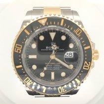Rolex Sea-Dweller Gold/Stahl 43mm Schwarz Keine Ziffern Deutschland, Koblenz