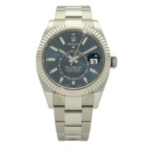 Rolex Sky-Dweller Gold/Steel 42mm Blue No numerals United Kingdom, Liverpool