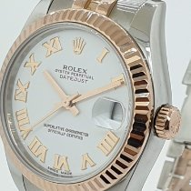 Rolex Lady-Datejust Acero y oro 31mm Blanco Argentina, buenos aires