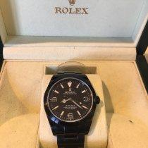Rolex Explorer Acier 39mm Noir Arabes France, Clichy