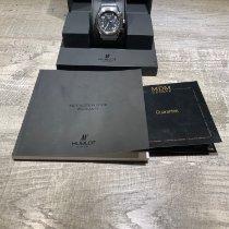 Hublot Elegant Steel 40mm Black Arabic numerals