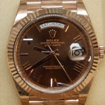 Rolex Day-Date 40 Oro rosa 40mm Marrón España, Barcelona