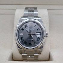 Rolex Datejust Steel 41mm Grey No numerals UAE, Dubai