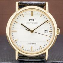 IWC Portofino Automatic Жёлтое золото 38mm Белый