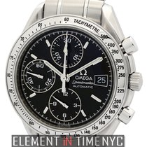 Omega Speedmaster Date Steel 39mm Black United States of America, New York, New York
