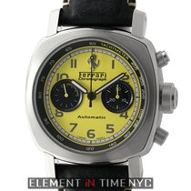 Panerai Ferrari Steel 45mm Yellow Arabic numerals United States of America, New York, New York