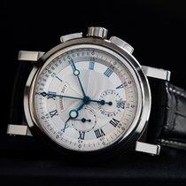 Breguet Chronograph 42mm Automatik 2010 gebraucht Marine Silber