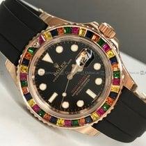 Rolex - Yacht Master 116695SATS Diamond Bezel Black Dial RG