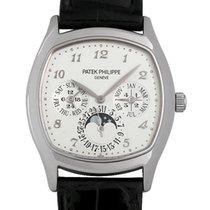 パテック フィリップグランド コンプリケーション ・中古・時計 (説明書付き、化粧箱入り)・37 x 44.6 mm・ホワイトゴールド