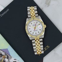 Rolex Datejust Turn-O-Graph 18k Gold Stainless Steel Jubilee...