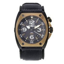 Bell & Ross BR 02 BR02 PINKGOLD CA pre-owned