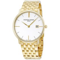Frederique Constant SLIMLINE GENTS White Dial- Yellow Gold 38,4mm