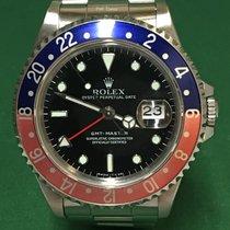 勞力士 16700 Oyster Perpetual GMT Master Black Dial 78360 Bracelet