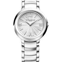 Baume & Mercier MOA10157 Promesse Quartz Watch 30mm in Steel -...