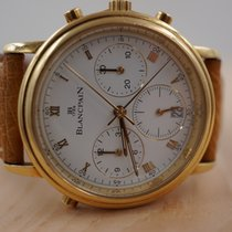 Blancpain Yellow gold 34mm Automatic 1186-1418-55 pre-owned