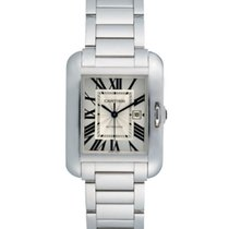 Cartier Tank Anglaise pre-owned White gold